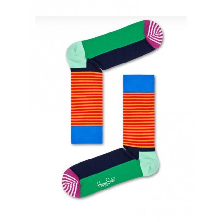 Happy Socks Half stripe calzino uomo multicolore