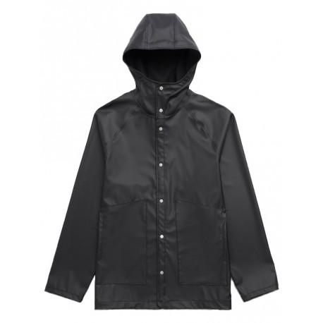 Giacca impermeabile Herschel da uomo Rainwear Classic nero