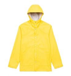 Giacca impermeabile Herschel da uomo Rainwear Classic giallo