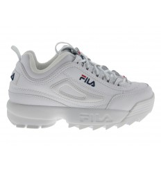 Scarpe Fila Distruptor II Premium da donna bianco
