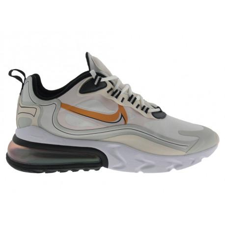 Scarpe Nike Air Max 270 React LX da uomo bianco