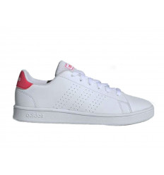 Scarpe Adidas Advantage Clean da donna bianco rosa