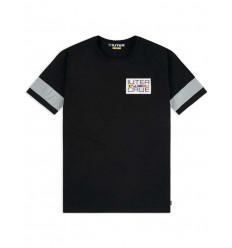 T-shirt Iuter Brotherood tee da uomo nero