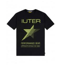 T-shirt Iuter Performance tee da uomo nero