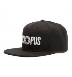 Cappelli Octopus Logo Snapback con visiera nero