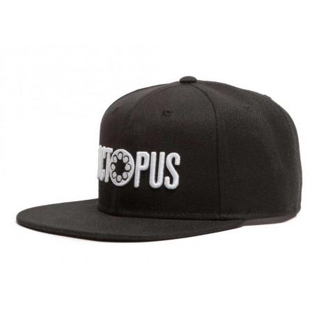 Cappelli Octopus Logo Sbaoback con visiera nero