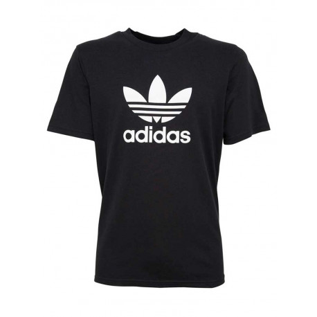 T-shirt Adidas Trefoil uomo donna nero