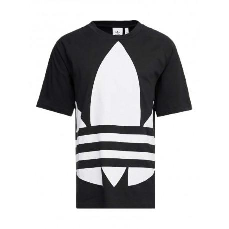 T-shirt Adidas Bg Trefoil uomo donna nero