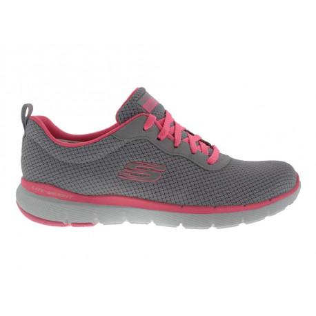 Scarpe Skechers Flex Appeal 3.0 da donna grigio
