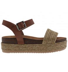 MTNG Sandalo Donna Fondo Corda Freetime