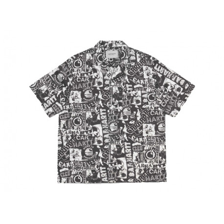 CARHARTT CAMICIA S/S COLLAGE SHIRT