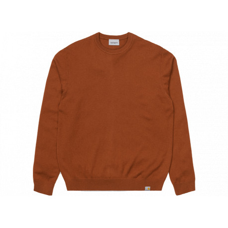 Maglione Carhartt Playoff sweater uomo marrone
