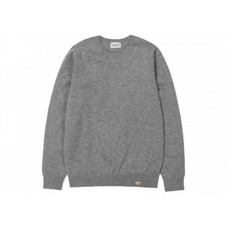 Maglione Carhartt Playoff sweater uomo grigio
