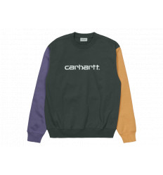 Carhartt Felpa Tricolor Sweatshirt Uomo