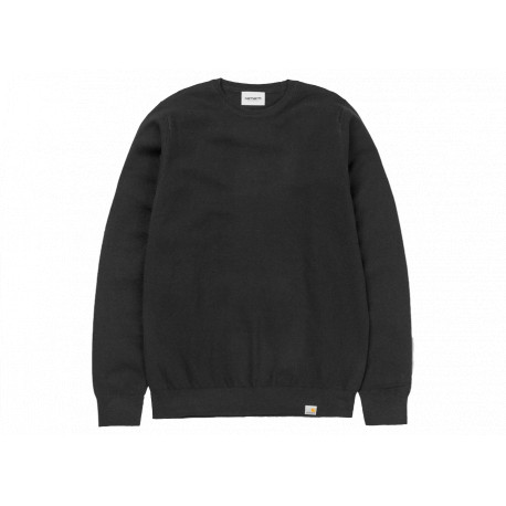 Maglione Carhartt Playoff sweater uomo nero