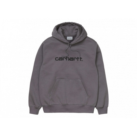 Carhartt Felpa Hooded Sweatshirt Uomo Grigio