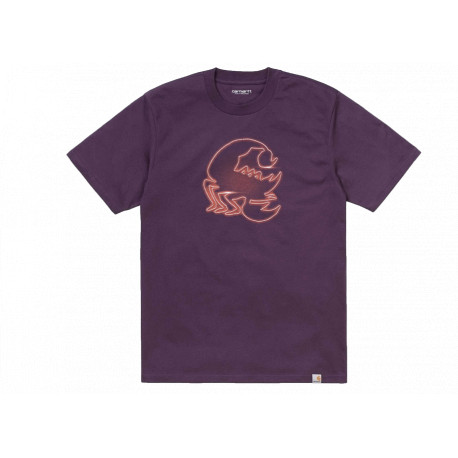 Carhartt T-shirt Neon Scorpion S/S Unisex Viola