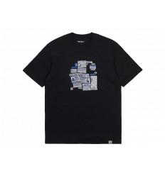 Carhartt T-shirt Atlas ADS C S/S Nero Unisex