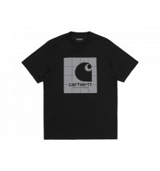 Carhartt T-shirt Reflective Square S/S Nero Unisex