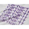 Carhartt T-shirt Fading Script S/S Grigio Unisex
