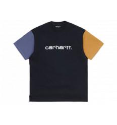 Carhartt T-shirt Tricol S/S Blu Unisex