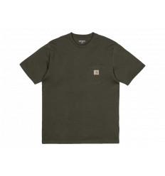 Carhartt T-shirt Pocket Verde Unisex