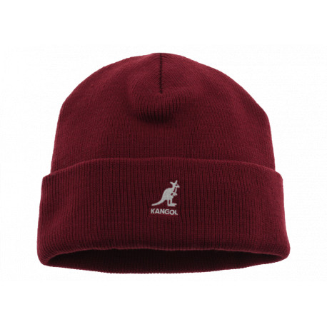 kangol Acrilic Cuff Pull-On Bordò Unisex