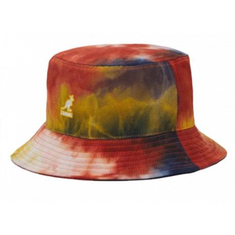 Kangol Cappello alla Pescatora Unisex Tie Die Bucket Hat