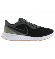 Nike Revolution 5 BQ3204016 Scarpe Running da Allenamento Uomo Nero/Grigio