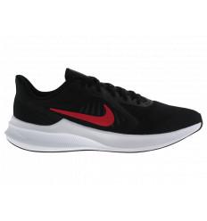 Nike Downshifter 10 CI9981006 Scarpe Running da Allenamento Uomo Nero/Rosso