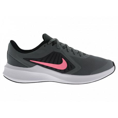 Nike Downshifter 10 CJ2066008 Scarpe Donna Running da Allenamento Grigio/Rosa