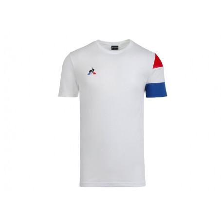 Le Coq Sportif T-shirt Uomo Tri Tee SS N°2 2020517 Bianco