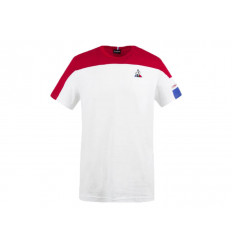 Le Coq Sportif T-shirt Uomo Tri Tee SS N°1 2020548 Bianco