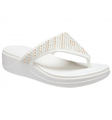 Infradito Crocs Monterey Shimmer Wedge Flip 206843 Donna