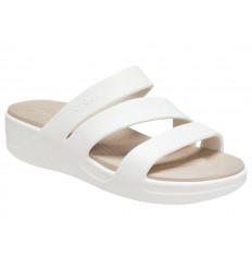 Sandalo Crocs Monterey Wedge 206304 Donna Beige