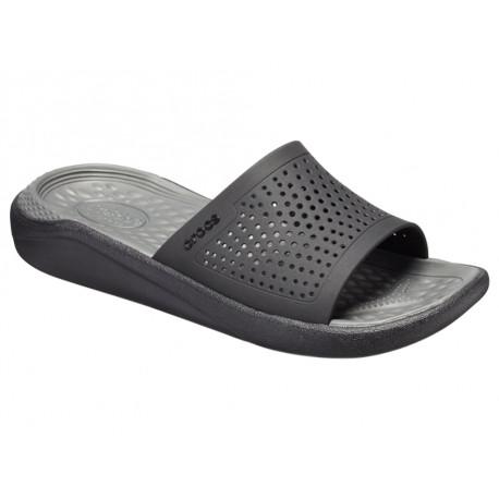 Ciabatta Crocs LiteRide Slide 205183 Uomo Nero
