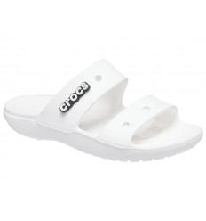 Ciabatta Classic Crocs Sandal 206761 Unisex Bianco