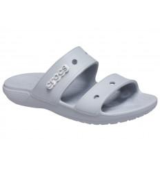 Ciabatta Classic Crocs Sandal 206761 Unisex Grigio Chiaro