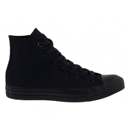 Converse All Star HI Full Black scarpe tela unisex