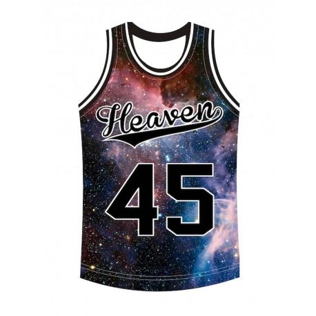 Heaven 45 Canotta uomo moda tokyo cosmic galaxy