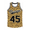 Heaven 45 Canotta uomo moda new york leopardata
