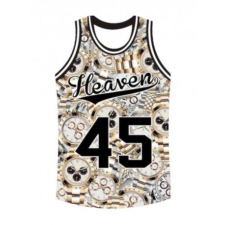 Heaven 45 Canotta uomo moda montecarlo orologi rolex
