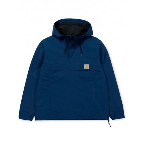Giubbino Carhartt uomo nimbus pullover mezza stagione blu