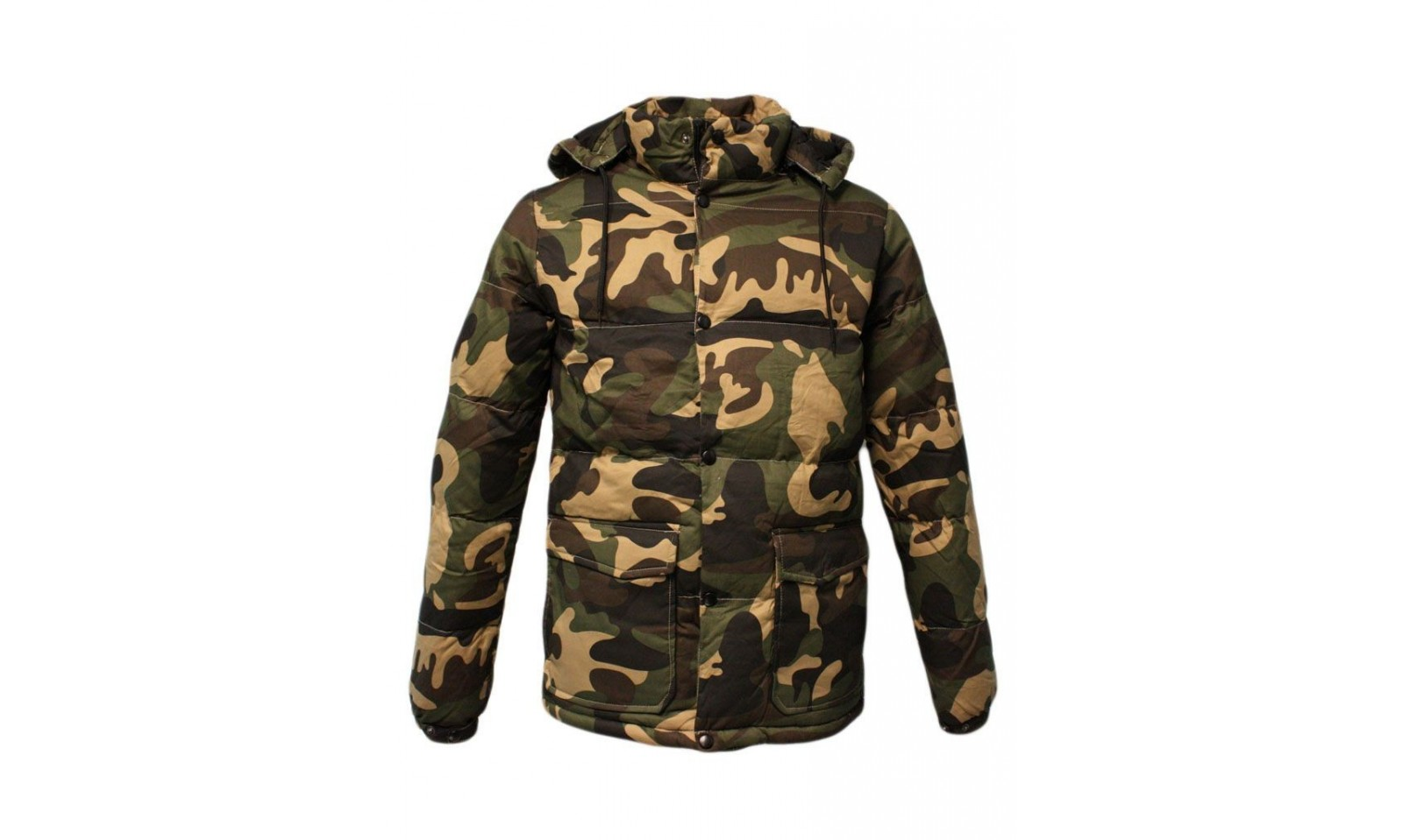 Urban classics Piumino camo winter jacket TB627