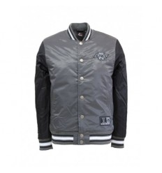 Majestic athletic Giacca college glascoe padded satin jacket los angeles kings uomo