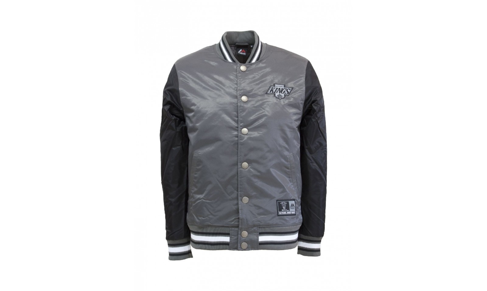Majestic athletic Giacca college glascoe padded satin jacket