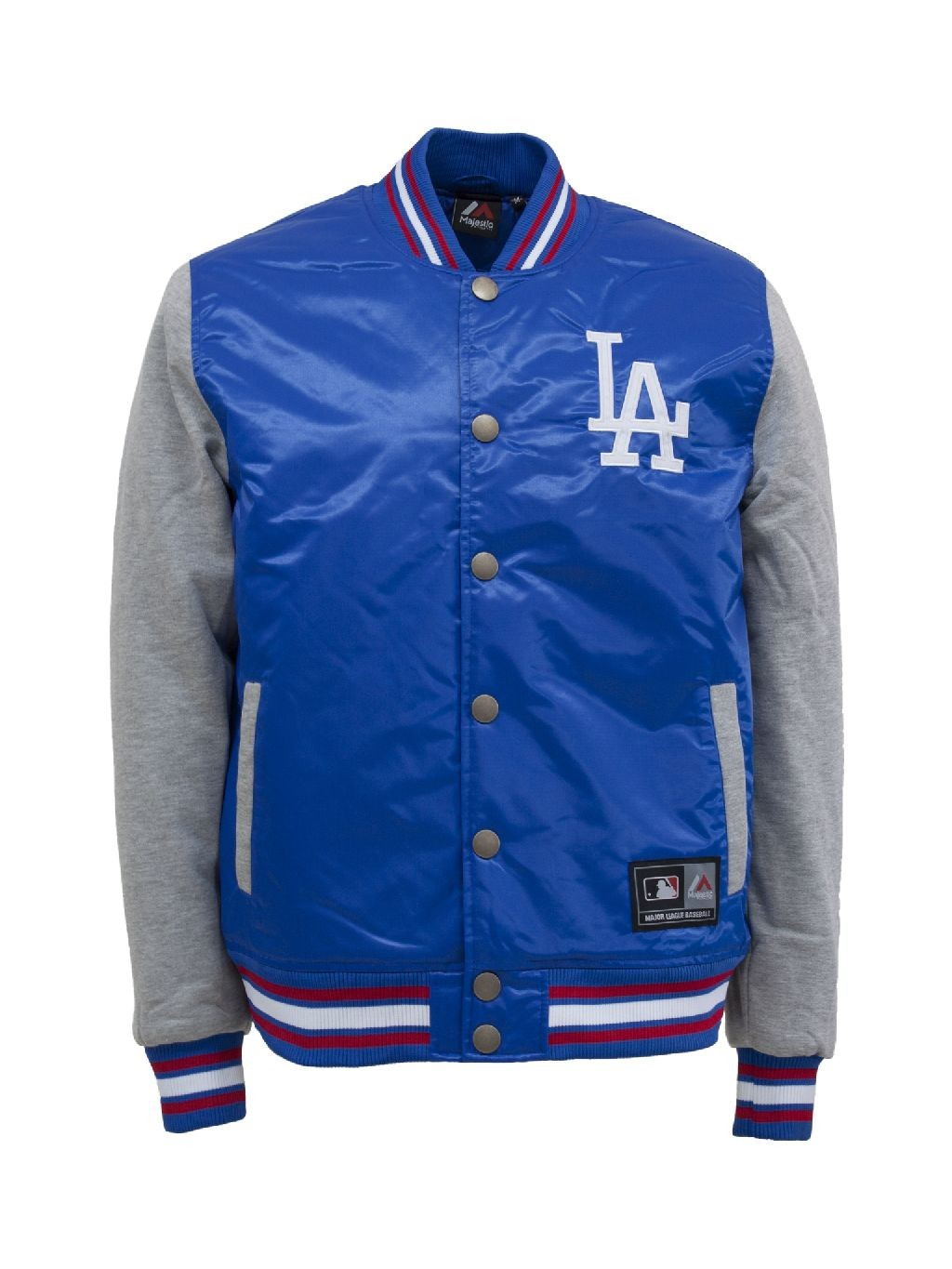 Majestic athletic Giacca college creech mixed fabric varsity