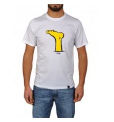 Ies Tshirt uomo piede simpson maglietta estate