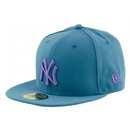 Newera Cappellino visiera piatta seasonal basic new york yankees