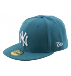 New Era Cappellino visiera piatta league basic new york yankees